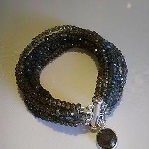 Labradorite 925 Sterling Silver Bracelet